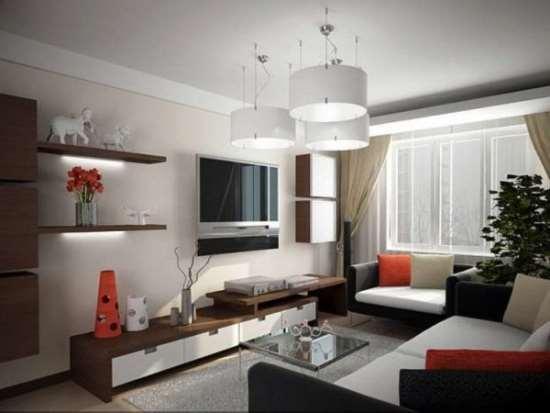 Декор гостиной комнаты. Мебель для гостиной