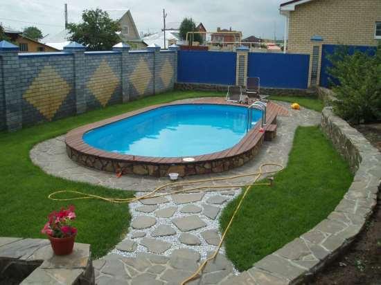 Как построить недорогой бассейн своими руками?