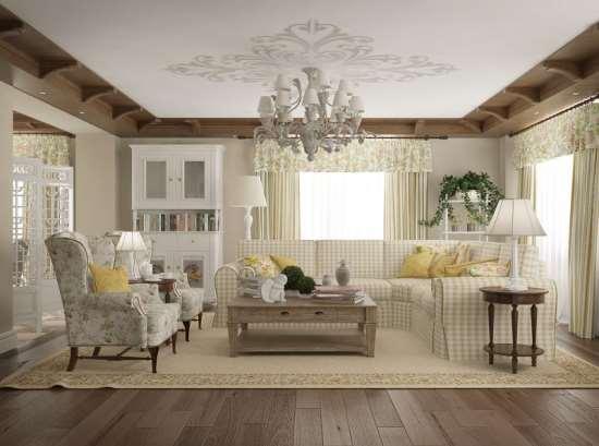 Как сделать дизайн интерьера дома в стиле прованс?