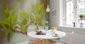 Как с помощью фотообоев можно сделать красивую и уютную кухню?