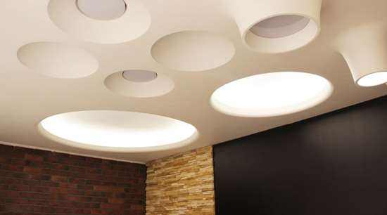 Гипсовые светильники под покраску – новые осветительные приборы
