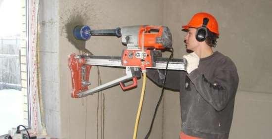 Сверление бетона – полезные советы