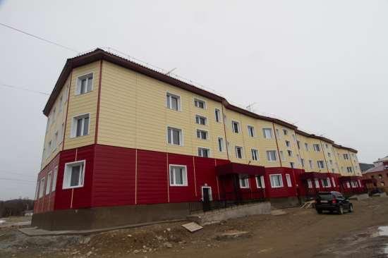 Многоквартирный каркасный дом из ЛСТК