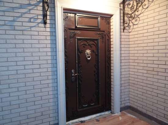 Двери стальные для дома