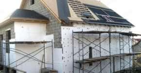 Пенопласт как надежный материал для теплоизоляции дома