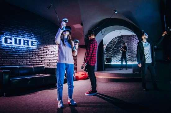 VR-клубы в различных городах России