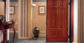 Входные двустворчатые двери: делаем правильный выбор