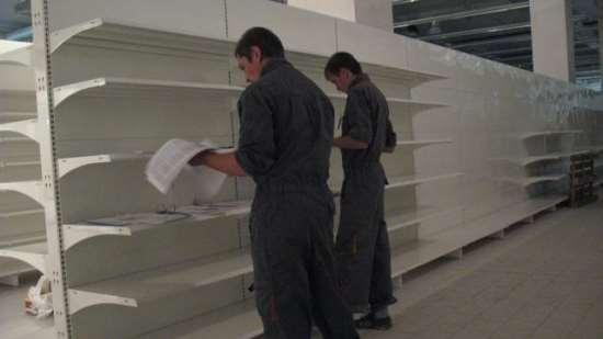 Как произвести демонтаж торгового оборудования?