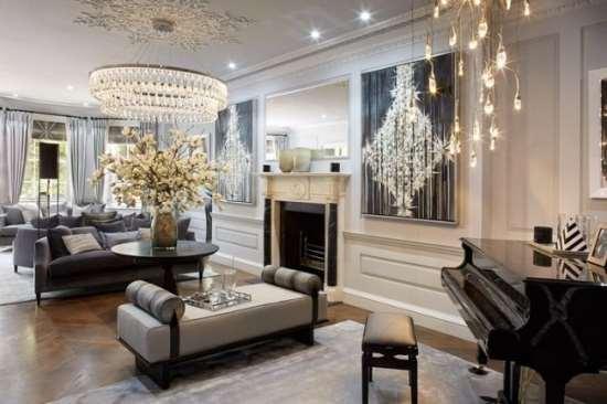 Интерьер квартиры в стиле «неоклассика» - как правильно подойти к оформлению