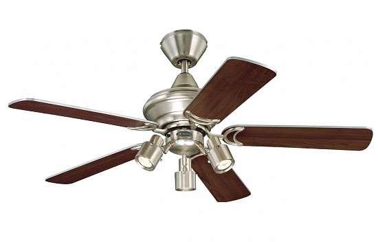 Люстра-вентилятор – отличная альтернатива установке кондиционера