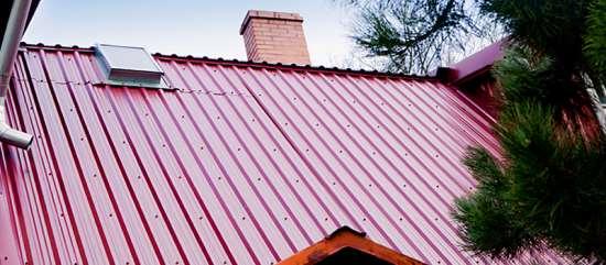 Профнастил – надежная защита вашей крыши