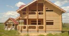 Как найти подходящий проект для строительства дома из оцилиндрованного бревна