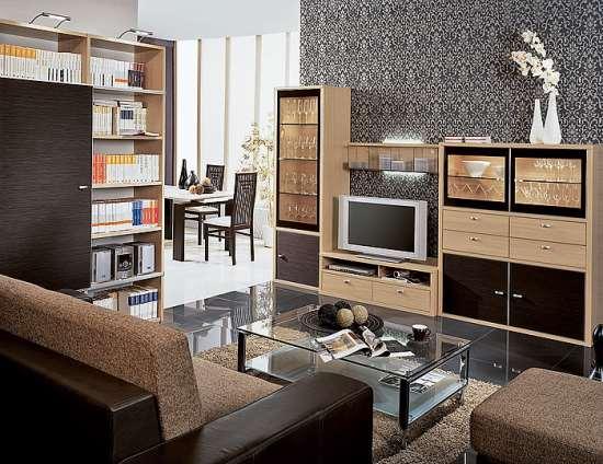 Заказная мебель для гостиной дополняет стиль интерьера, создает комфорт и удобства