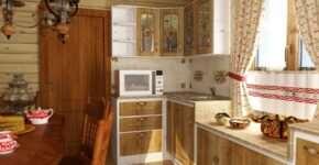 Характерные черты мебели в стиле кантри