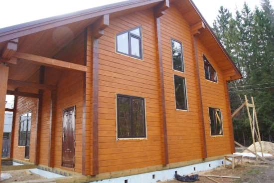 Важные моменты при создании фундамента для дома из клееного бруса