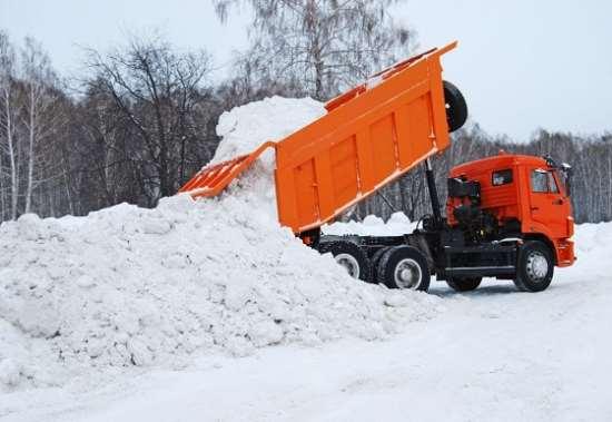 Как правильно вывозить и утилизировать снег