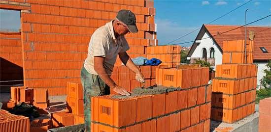 Применение керамических блоков в строительстве жилых домов