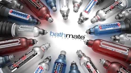 «BATHMATE» - современные гидропомпы для увеличения пениса