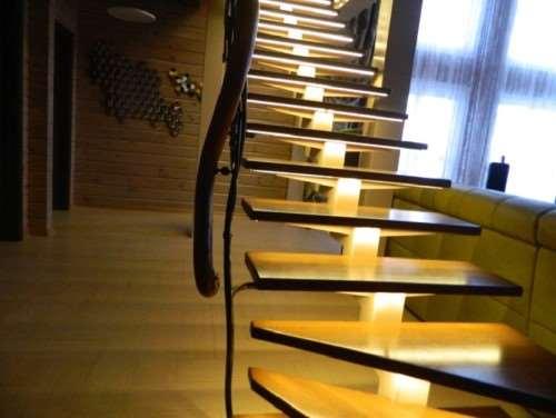 Декоративная LED-подсветка ступеней и стен – лучшее решение для домов и офисов