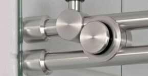 Функции и разновидности фурнитуры для стекла