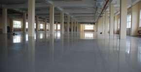 Популярные виды промышленных бетонных полов