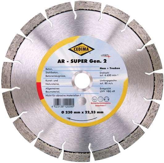 «Диамар» - высокопрочный алмазный диск AR-Super Generation 2