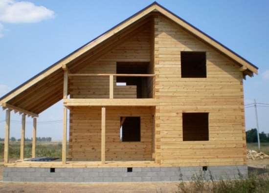 «ЯрБрусовик» - возведение брусовых домов под усадку