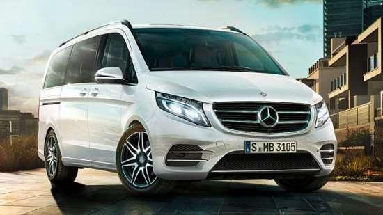 «V-transfer» - прокат автомобилей Mercedes V-Class и Viano с водителем