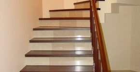 Чем лучше всего обшивать бетонные лестницы