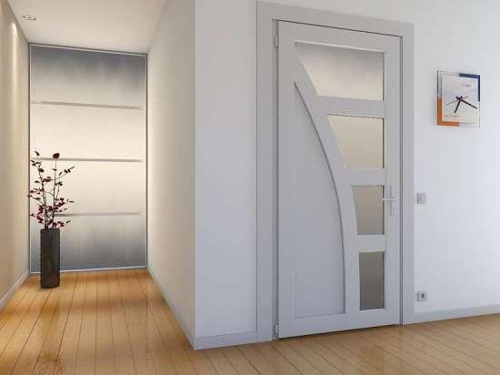 Межкомнатные двери из пластика: надежно, выгодно, удобно