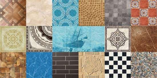 Керамическая плитка – разновидности отделочного материала