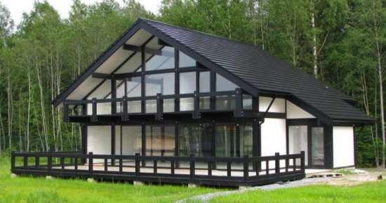 Проекты домов фахверк