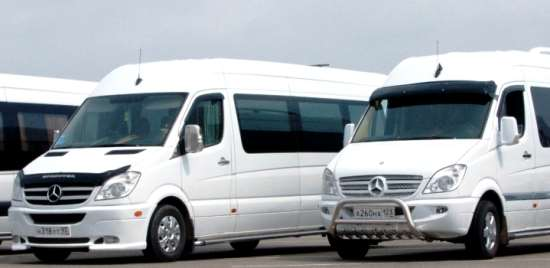 Заказ и аренда микроавтобусов в Одессе у компании «Трансфер»