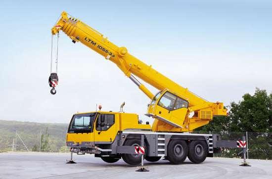 Аренда Liebherr LTM 1055 3/2 – высочайшая функциональность и экономия