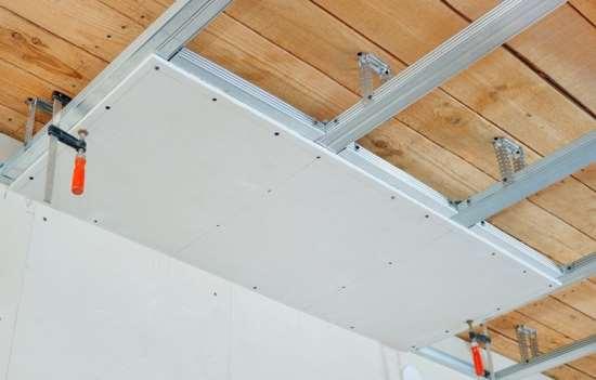 Базовые принципы монтажа потолка из гипсокартона