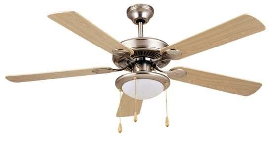 Принцип действия современных потолочных вентиляторов