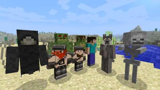 Моды, карты, клиенты и сервера для игры Minecraft