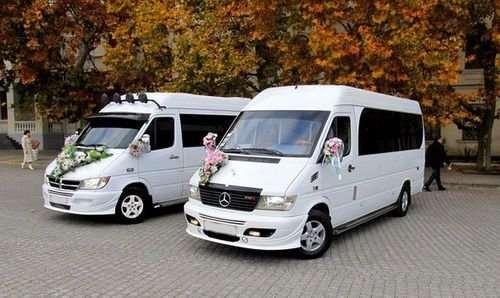 Почему выгодно арендовать микроавтобус на свадьбу