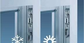 Переводим пластиковые окна в зимний режим самостоятельно