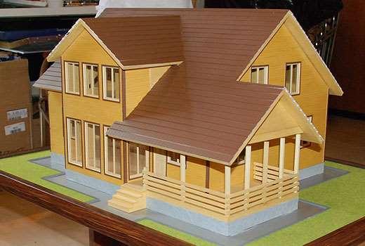 Как сделать макет будущего дома?