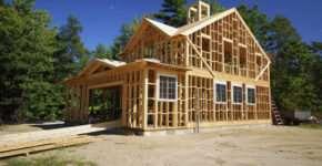 Строительство каркасных домов под ключ компанией «НоваСтрой»