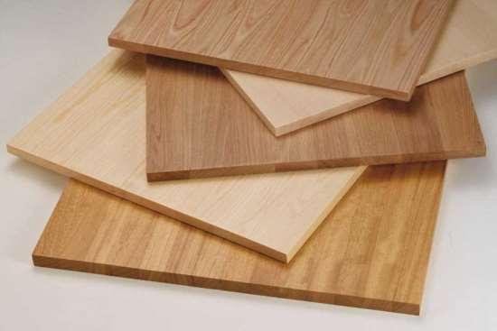 Мебельный щит: виды по материалу изготовления