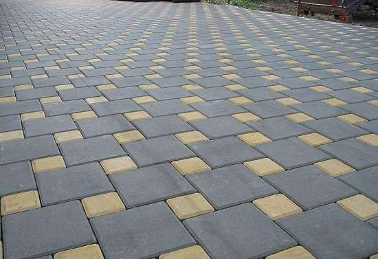Тротуарная плитка — материал, превосходящий асфальт и бетон