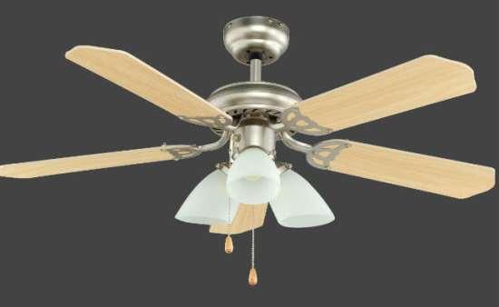 Потолочный вентилятор-люстра — красивое и функциональное устройство