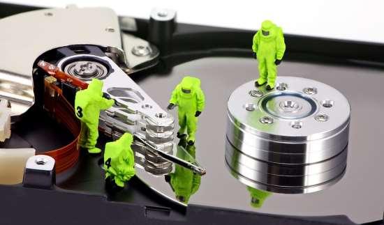Услуга восстановления данных с различных носителей