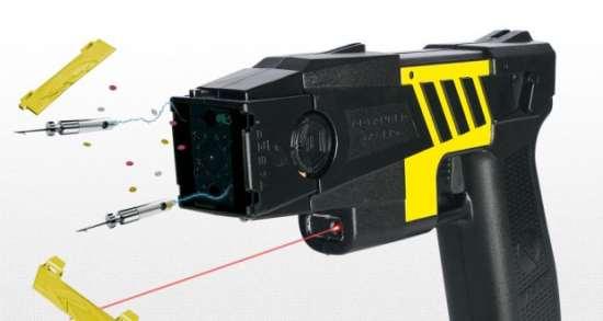 Стреляющий электрошокер Taser от интернет-магазина «MASATOVAROV»