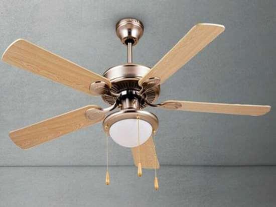 Чем хороша люстра-вентилятор