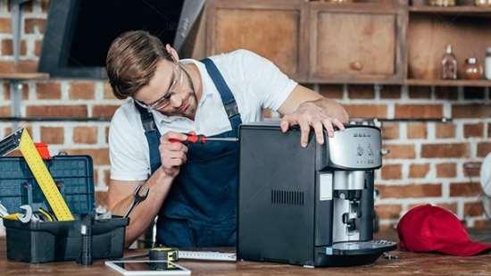 Ремонт кофемашин любых моделей специалистами фирмы «AJS»