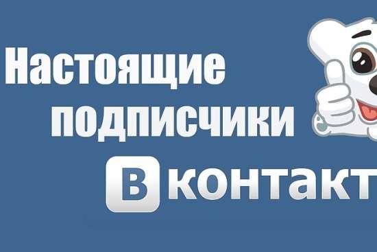 Подписчики для социальной сети ВКонтакте по низким ценам