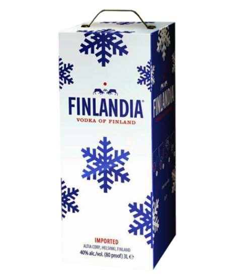 Водка «Финляндия» с мягким и насыщенным вкусом